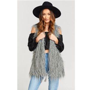 Show Me Your MuMu•Faux Fur Vest•NWT